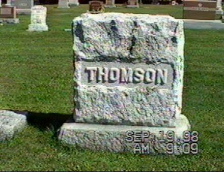 Thomson Family Plot