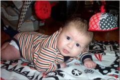 Spencer Almost Crawling