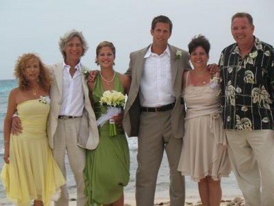 Zouly, John Flemming, Ninon, Alexander, Patricia and Ronald Thomson wedding