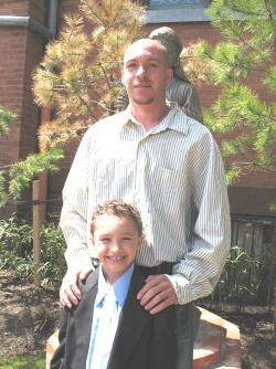 Jason and Son Justin