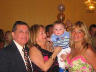 Manuel and Maria Barrera, Brandon and Paola Mosiurchak