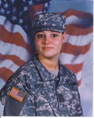 Private Lisa Marie Borek, US Army