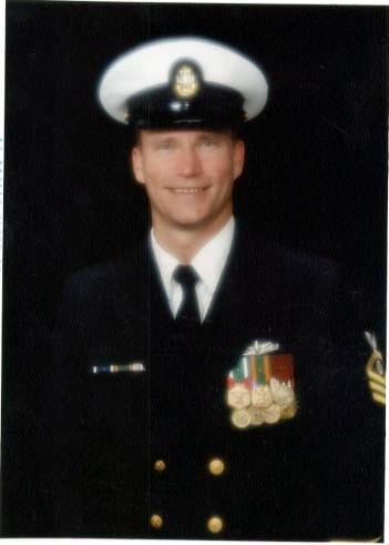 Richard in Uniform USN